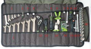 Сумка скрутка для инструмента ToolRoll DT700 Дело Техники