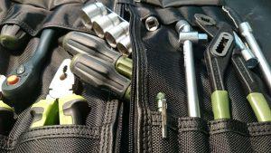 Сумка скрутка для инструмента ToolRoll SP700L