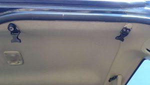 Сетка на потолок в багажник крепление