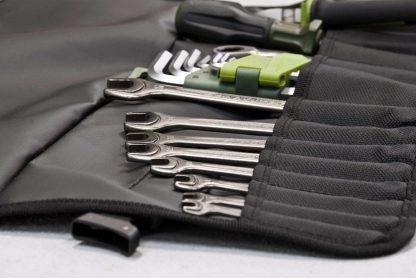 Сумка скрутка для инструмента ToolRoll S40. Сумка для мелкого инструмента.