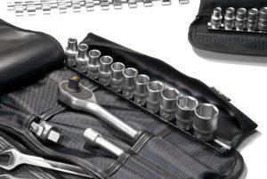 Сумка скрутка Tool-Roll SP700L с планкой для головок (1)