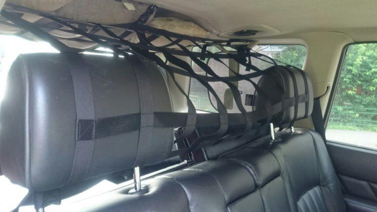 Сетка универсальная, отгораживает багажник