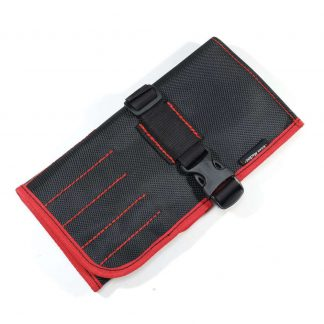 Сумка скрутка для инструмента ToolRoll S40 Red. Сумка для мелкого инструмента.