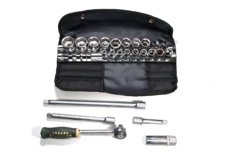 Сумка для головок, трещотки, удлинителей и свечника — ToolRoll S32