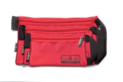 Сумка-кошелек - Комплект, Красный с черной лентой