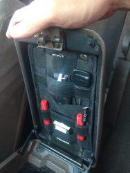 Органайзер в подлокотник Toyota LandCruiser 80