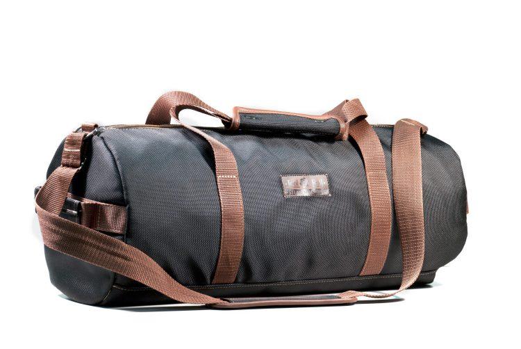 Дорожная сумка 17л Черная ПУ