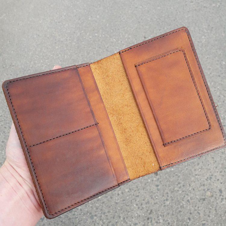 Бумажник с рисунком футбольный мяч