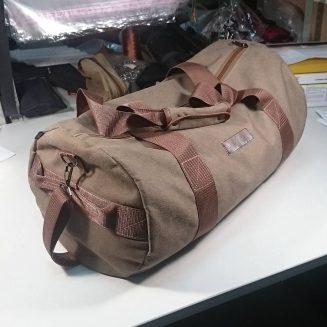 Дорожная сумка 40л Коричневая Canvas