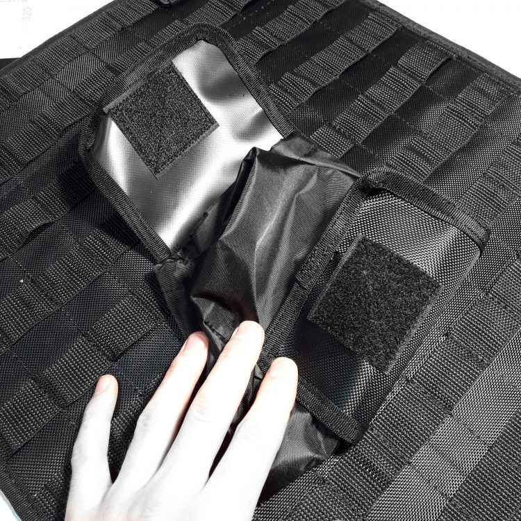 Подсумок MOLLE раскрывающийся для мусора Roll-Up
