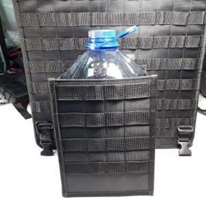 Подсумок модульный с креплением MOLLE для хранения бутылки с незамерзайкой, воды или канистры с маслом