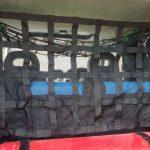 разделительная сетка в Pajero коротыш