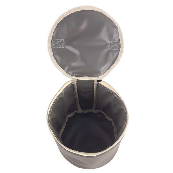 Круглый чехол для посуды на заказ