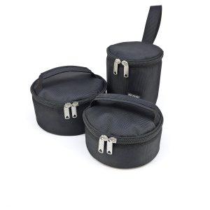 Круглый чехол для туристической посуды на заказ