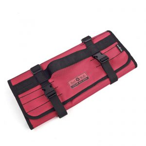 Сумка скрутка для инструмента ToolRoll S700 красного цвета (1)