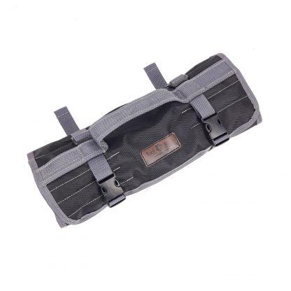 Сумка скрутка для инструмента ToolRoll S700 с серым кантом