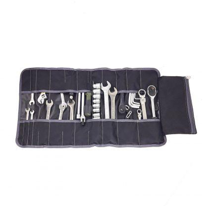 Сумка скрутка для инструмента ToolRoll S700 с серым кантом (3)