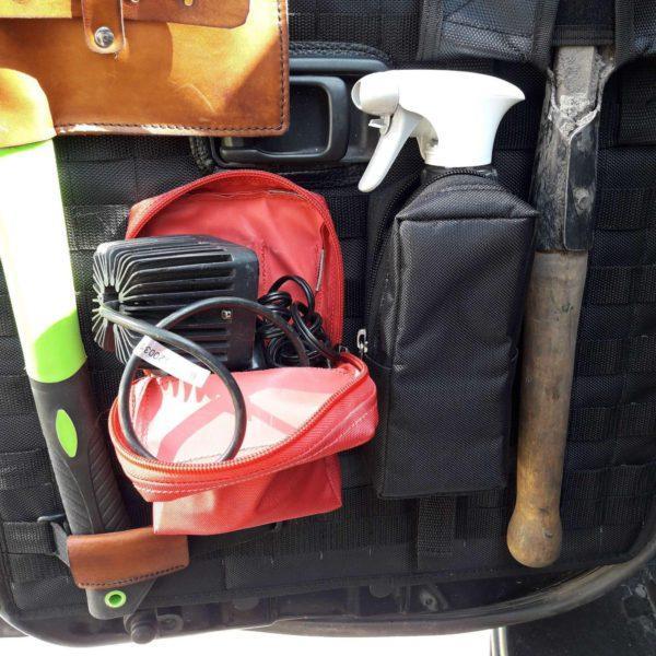 MOLLEPALS панель на заднюю малую дверь Nissan Patrol Y61