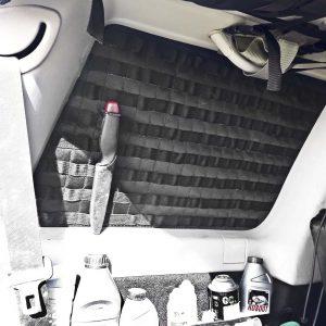 MOLLEPALS панель в оконный проем багажника Nissan Patrol Y61 левая