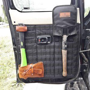 Чехол с креплением MOLLE для фиксации малой саперной лопаты на панелях MOLLE/PALS