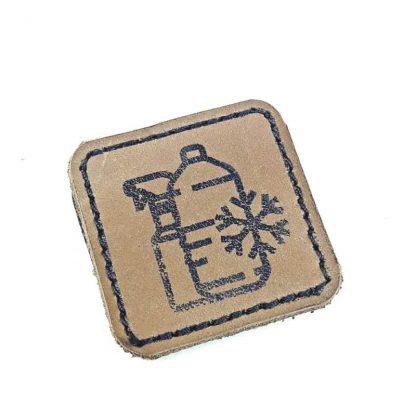 Пиктограмма очищающие жидкости незамерзайка