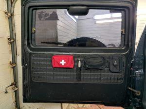 Панель Молле на дверь багажника
