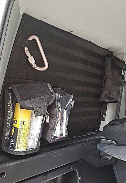 Панель MOLLE на стекло багажника УАЗ Патриот