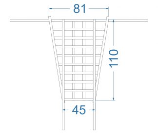 Сетка на потолок Sorento Prime