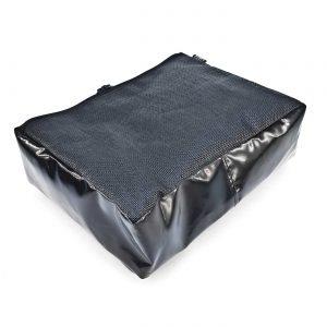 Утилитарный подсумок MOLLE из ткани ПВХ с сеткой 35x27x10см — 10×6