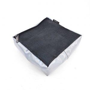 Утилитарный подсумок MOLLE из ткани ПВХ с сеткой 35x27x10см - 10x6