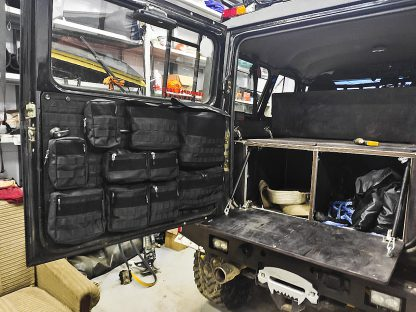 Панель платформа MOLLE-PALS на заднюю дверь УАЗ Hunter