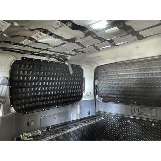 Панель MOLLE на стекло багажника Toyota Land Cruiser 80