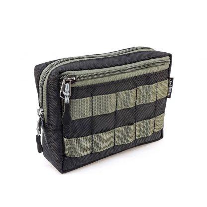 Подсумок утилитарный MOLLE 18х13х6см с дополнительным карманом - 5x3