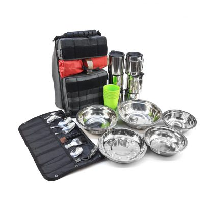 Набор туристической посуды в сумке 6 персон