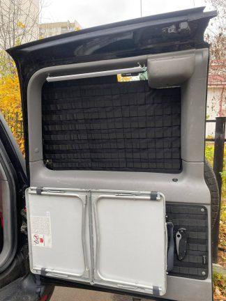 Панель MOLLE на окно большой двери багажника Toyota Land Cruiser 105